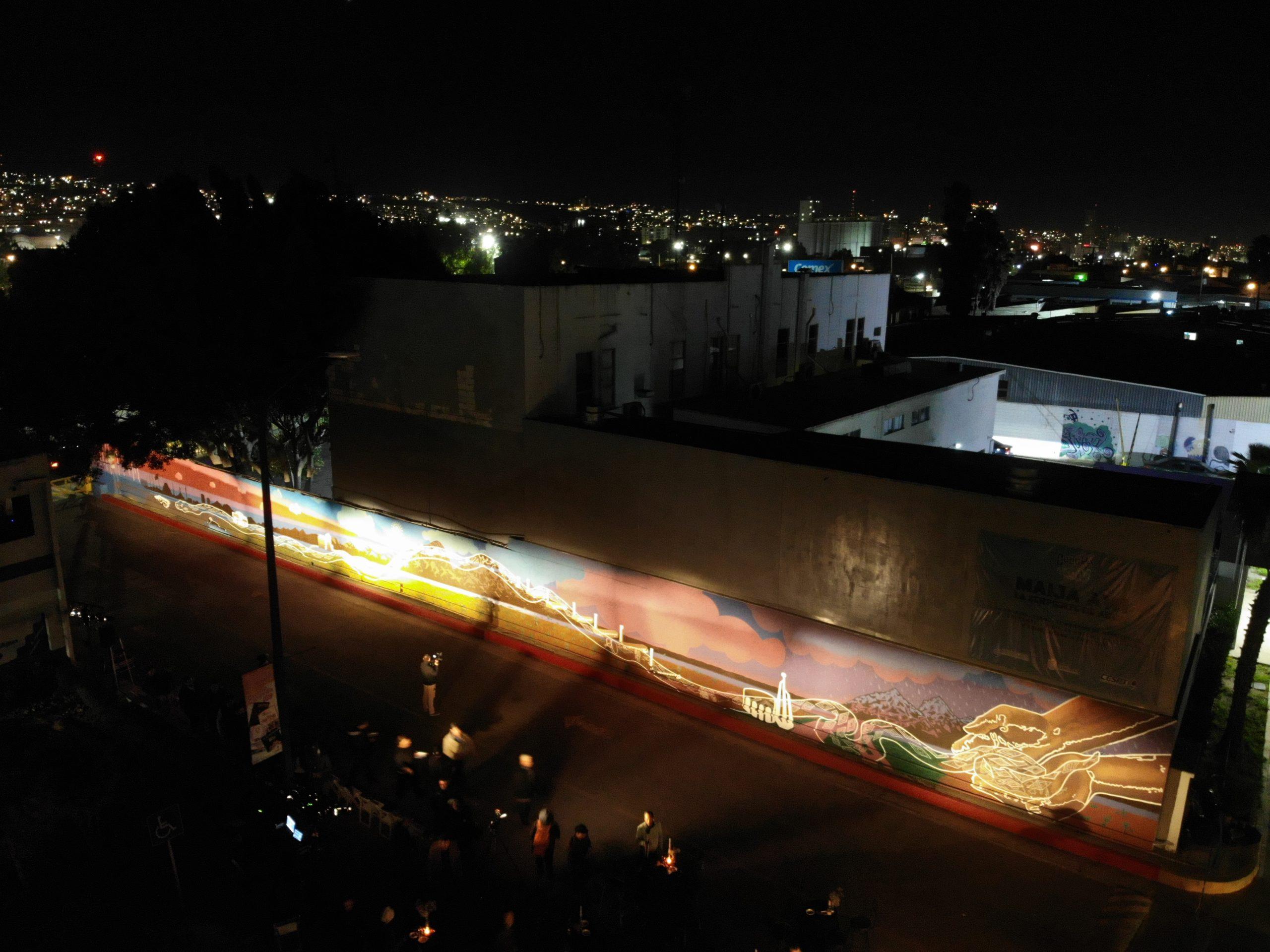 CESPT presenta mural en conmemoración del Aniversario 53 de su fundación