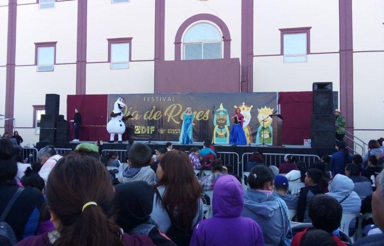 Más de mil niños y niñas recibieron un regalo de Reyes