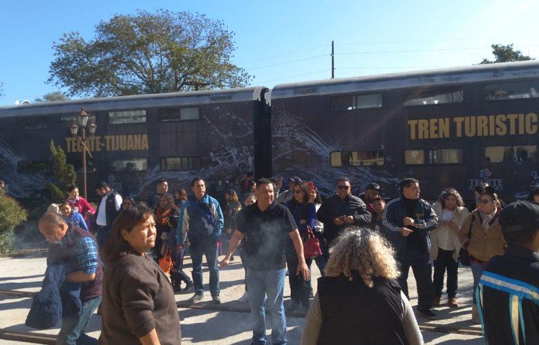 Invitan a disfrutar recorrido del Tren Turístico Tijuana-Tecate