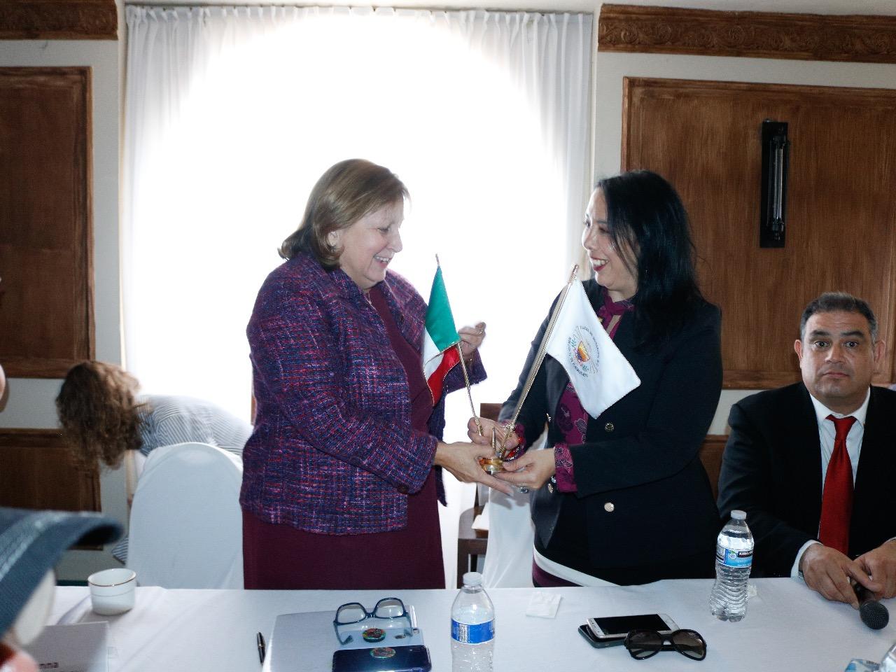 Se Reúne Araceli Brown con funcionarios consulares de Estados Unidos y del Gobierno Federal de México