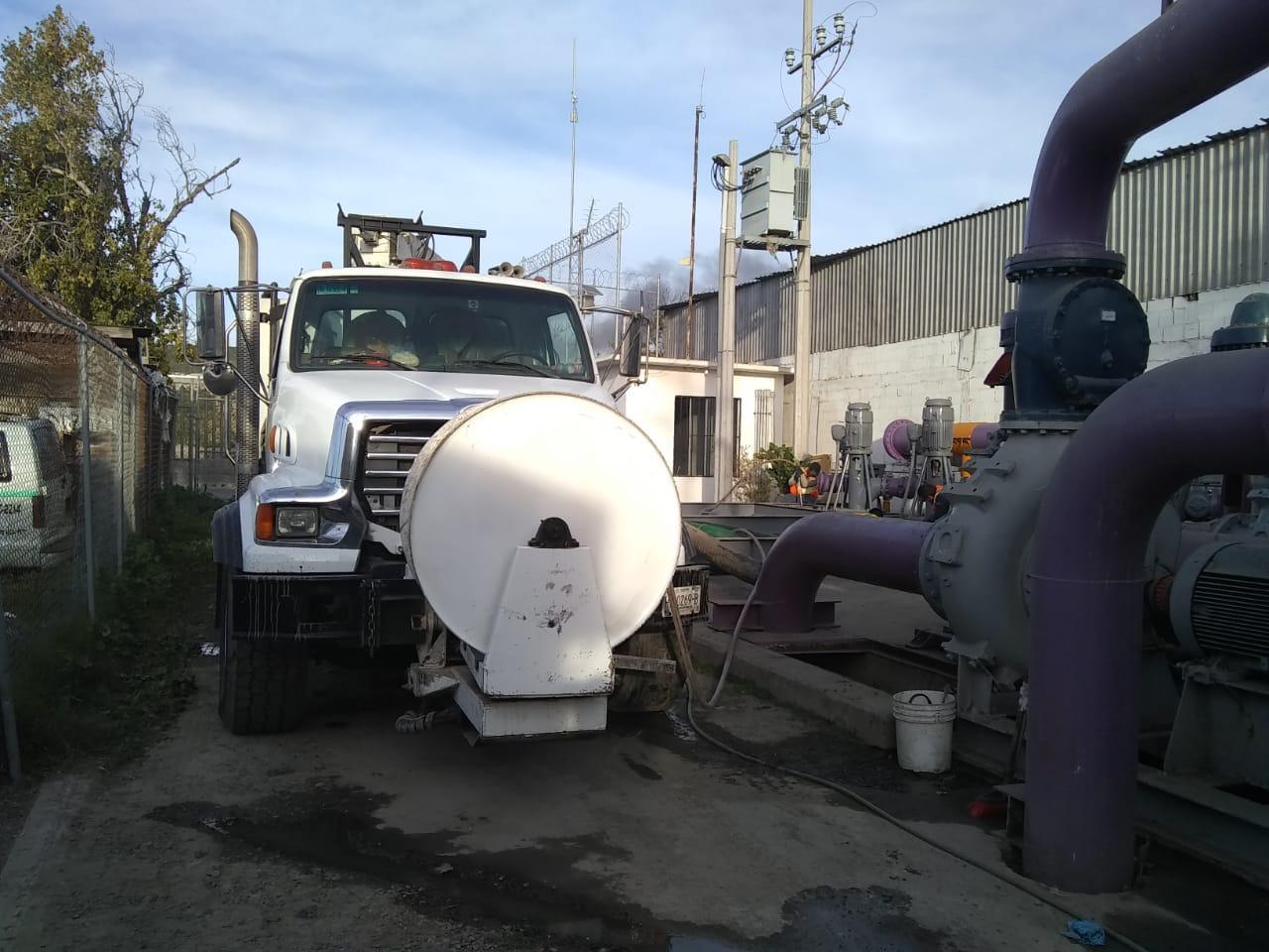 Realiza CESPT trabajos de desazolve en la Planta de Bombeo CILA