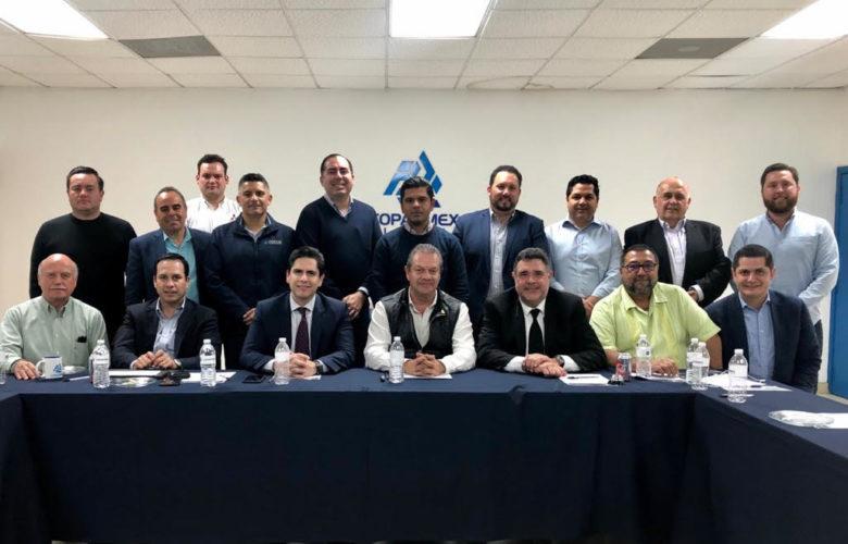 Se reúne Director de CESPT con miembros de COPARMEX Tijuana