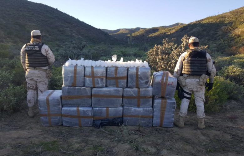 """Localizan droga durante la Operación """"El Rosario"""""""