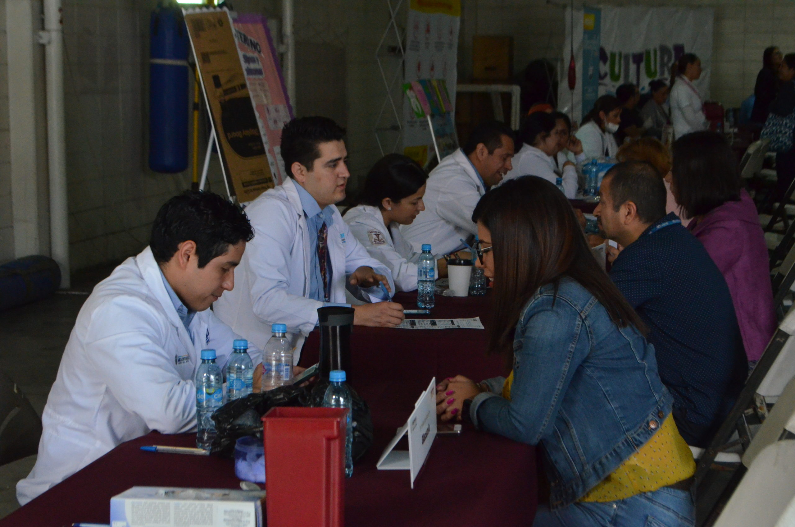 Personal de CESPT participa en Jornada de Salud de ISSSTECALI