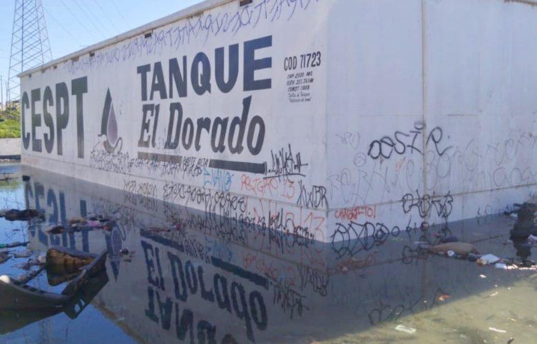 Vandalismo provoca inundación en Villas del Dorado