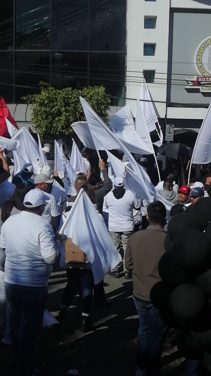 Continúan votaciones en el Sindicato de Burócratas