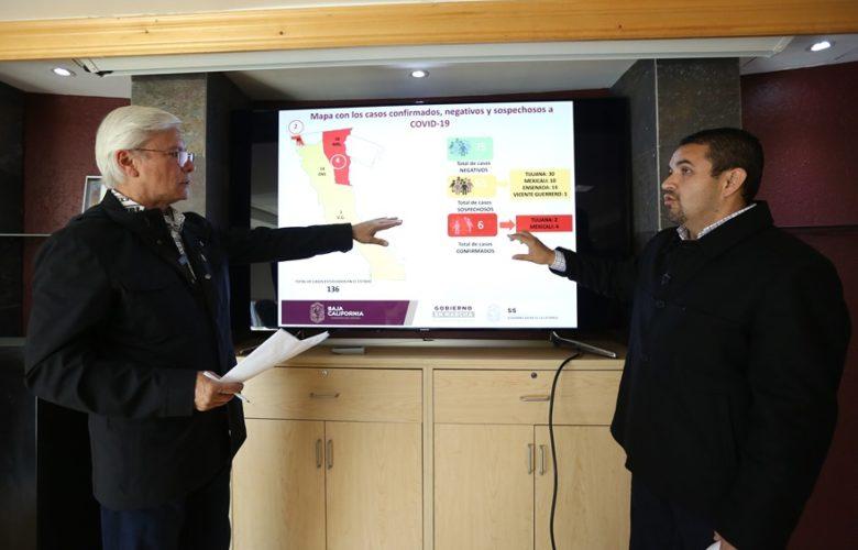 Suman 6 casos confirmados de COVID19 en BC, relacionados con viajes al extranjero
