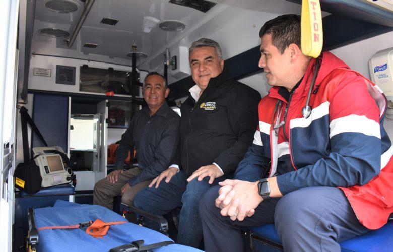 Cooperación y Respaldo Total a Cruz Roja Tijuana: Alejandro Ruiz Uribe