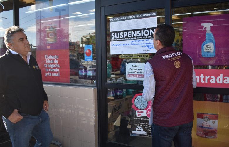 Suspende PROFECO dos Establecimientos Comerciales por incrementar precios