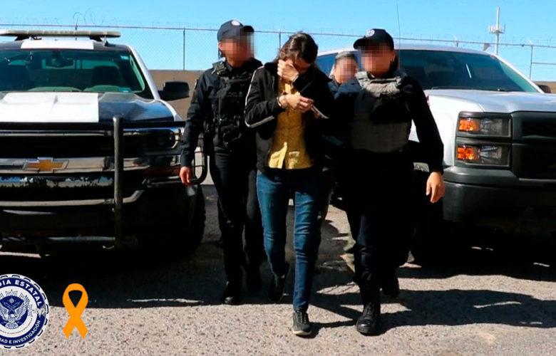 Implementan Operativo Naranja para detener a mujer traficante de personas