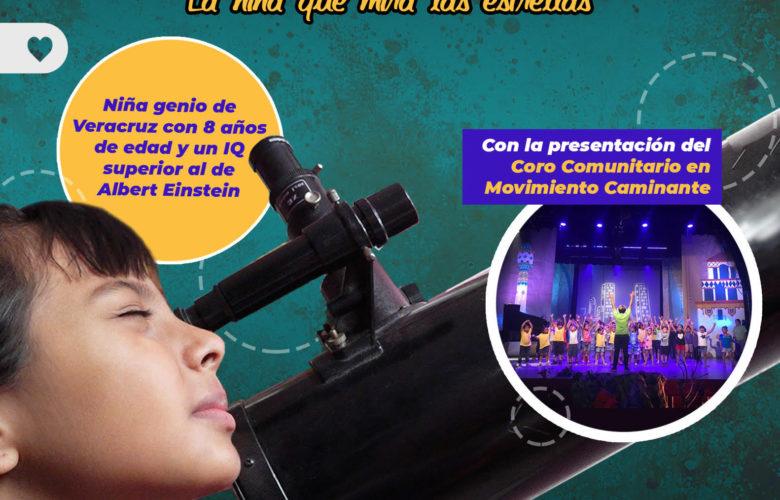 Adhara, la niña genio mexicana se presenta en Casa de la Cultura Tijuana: IMAC