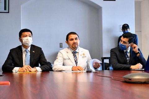 Comparten experiencia especialistas de Dongguan, China CON personal de salud de Baja California