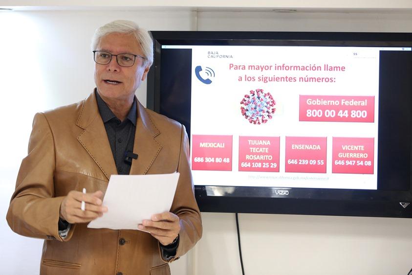 Confirman 5 casos de Coronavirus en BC, piden guardar la calma