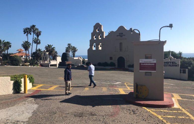 Tras 8 años de adeudos de agua, CESPT clausura Hotel Calafia
