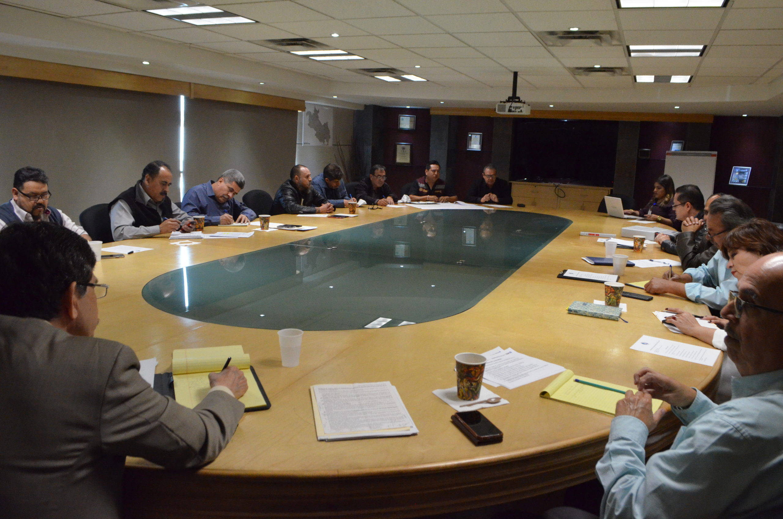 Coordina CESPT reunión de seguimiento a proyectos de saneamiento