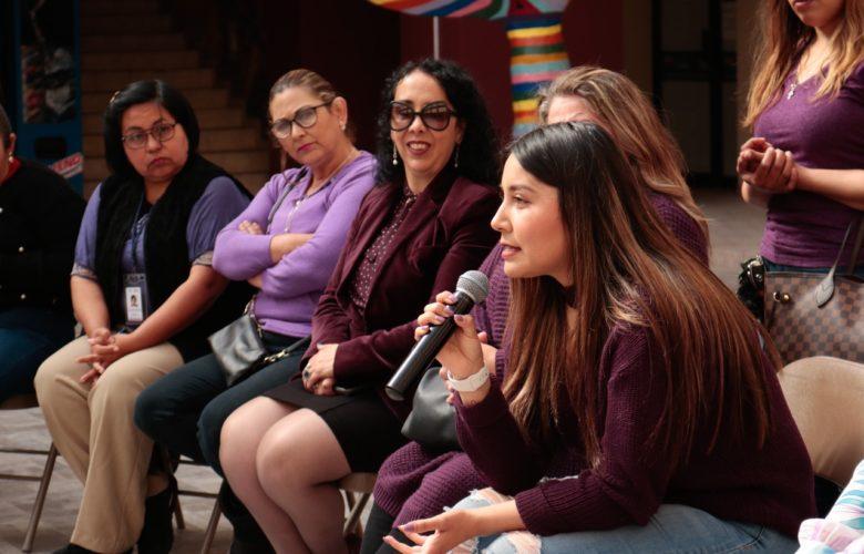 """Hace Araceli Brown llamado a la reflexión en el marco del movimiento """"Un Día Sin Nosotras"""""""