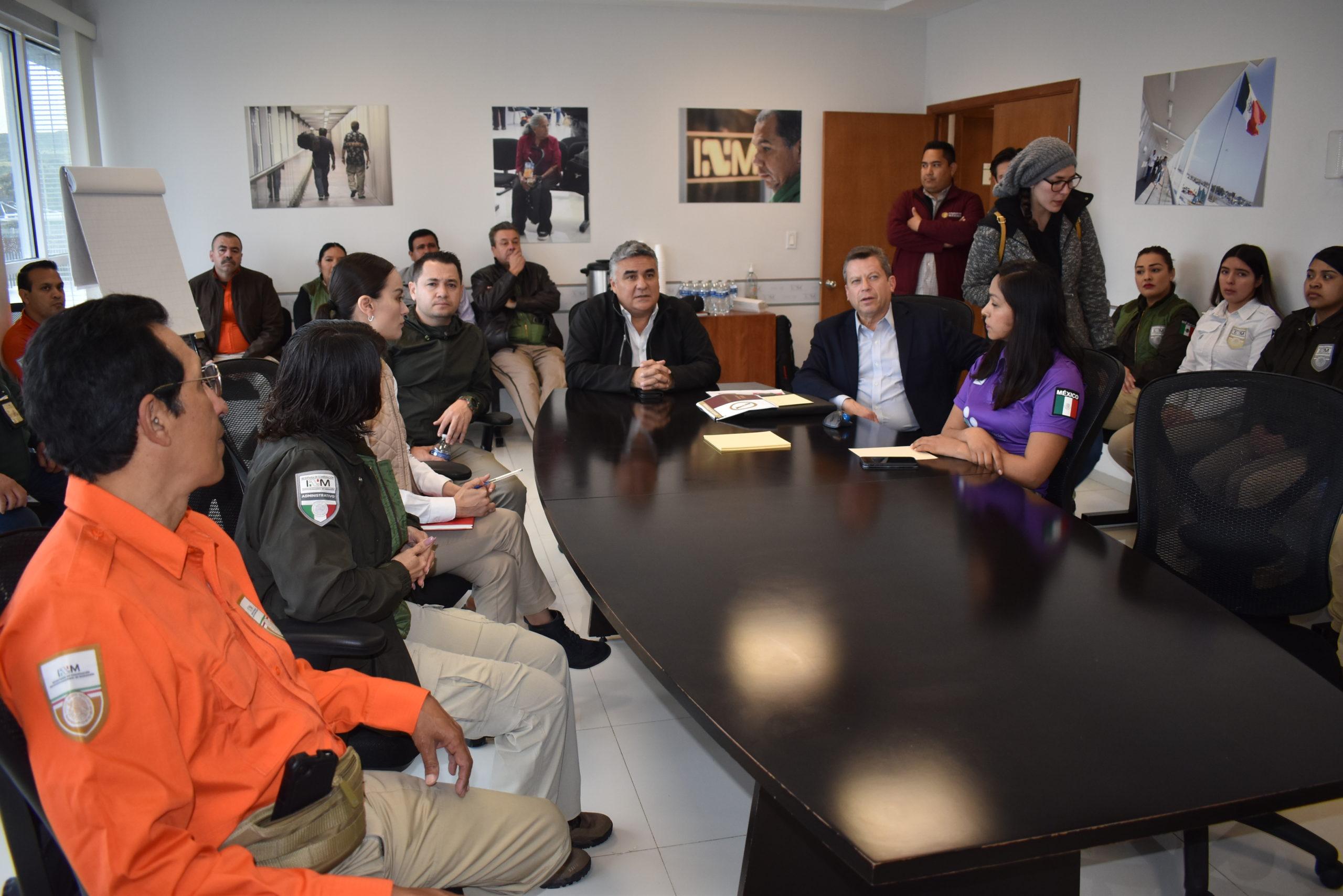 Dar un trato de respeto y dignidad en los Centros de Repatriación y Estaciones Migratorias de BC: Alejandro Ruiz Uribe