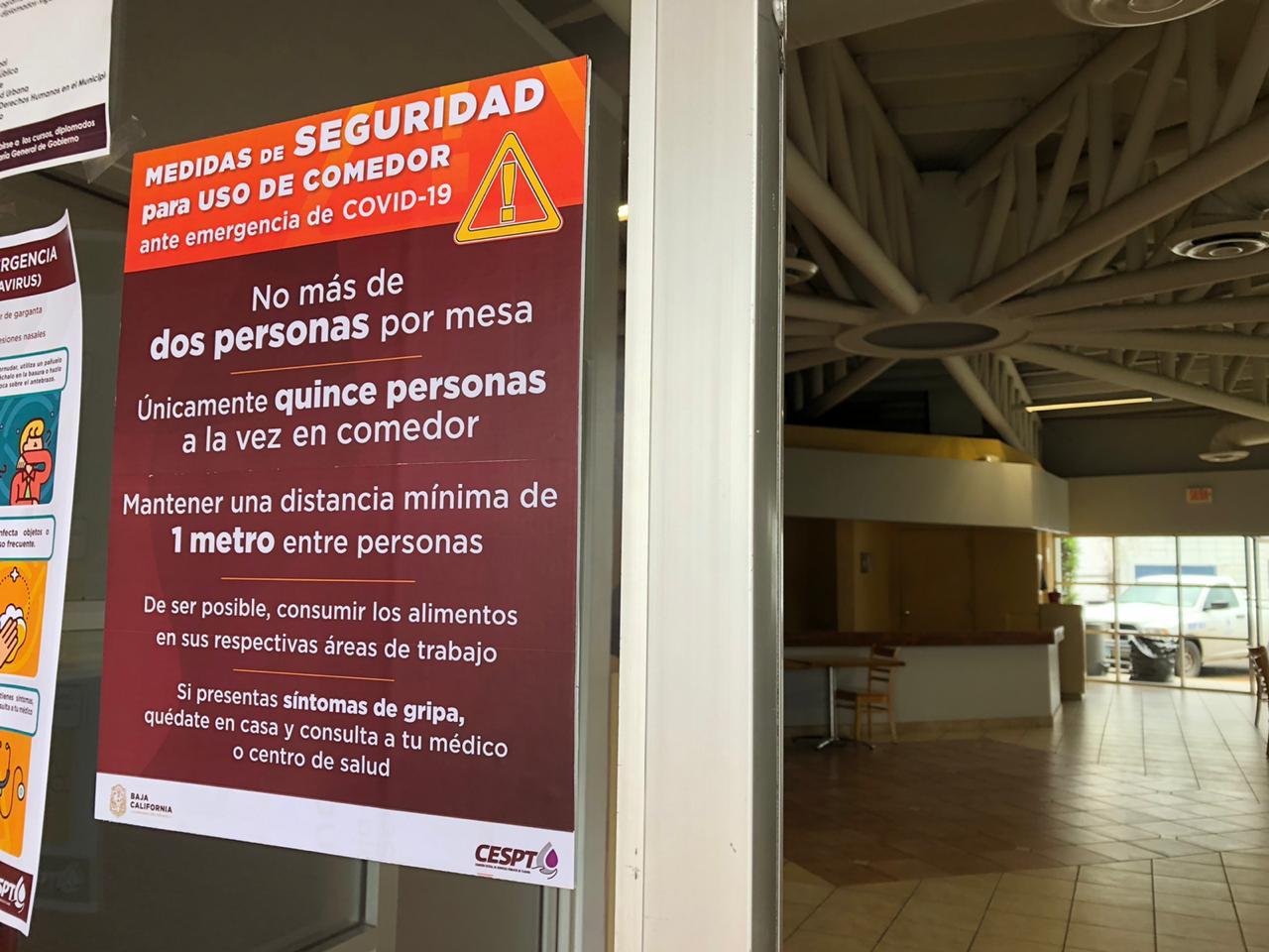 Adopta CESPT medidas de prevención e higiene en centros de atención a usuarios ante contingencia