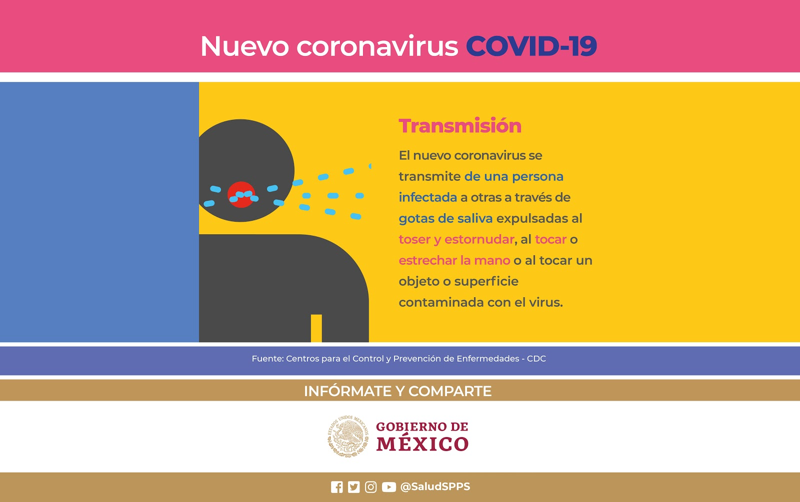 Suspenden actividades culturales por Coronavirus