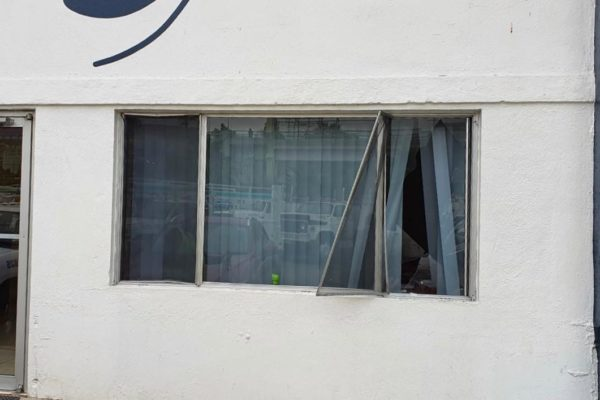 """Reporta CESPT actos vandálicos en Distrito Operativo """"Juan Ojeda"""" junto a la Central Camionera"""