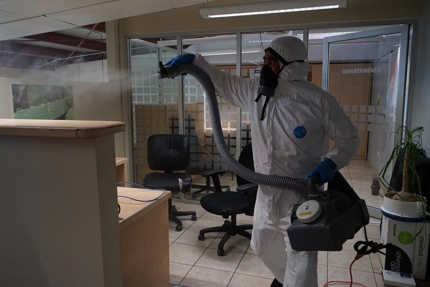 CESPT sanitiza instalaciones para beneficio de usuarios y personal, alineados al Plan de Contingencia por el COVID-19