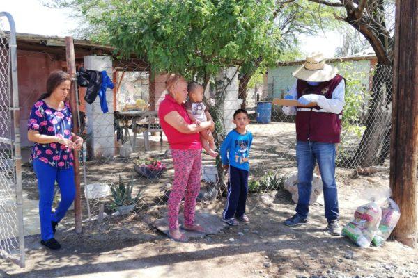 Reparten más de 400 mil despensas a familias por la Emergencia Sanitaria por COVID 19