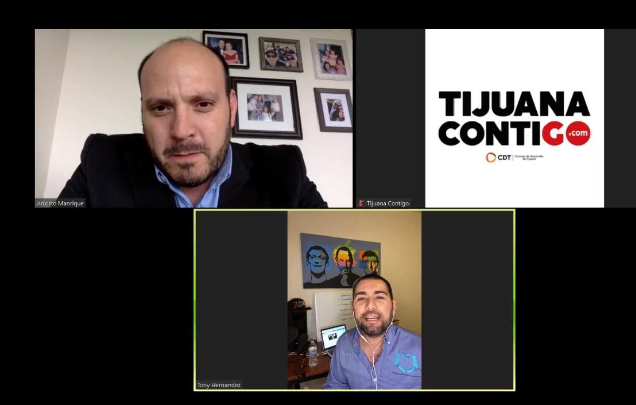 """CDT apoya a emprendedores con asesorías online gracias a """"Tijuana Contigo"""""""