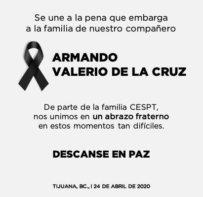 Lamenta CESPT fallecimiento de trabajador del Distrito Operativo El Florido