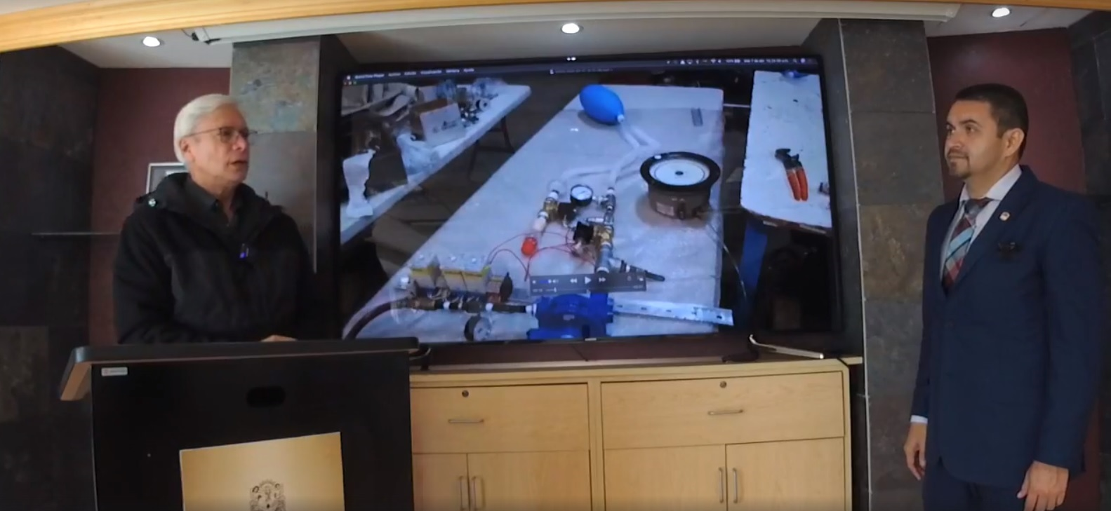 BC crea prototipo de respirador para enfrentar el CORONAVIRUS