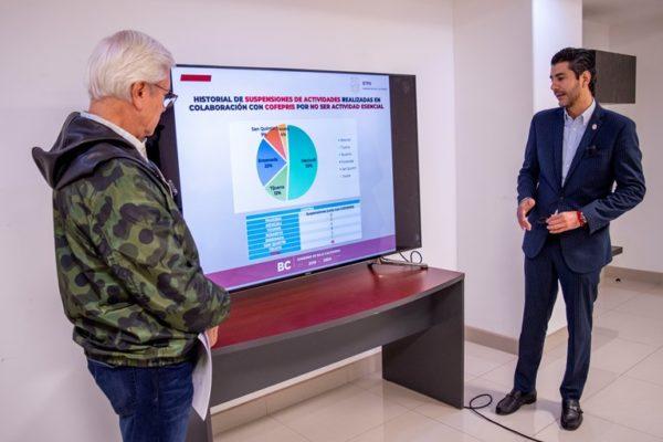 """Firme la postura del """"Gobierno en Marcha"""" de no apoyar a las empresas que se niegan a vender respiradores para BC"""
