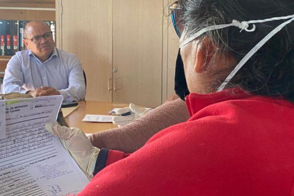 Atiende CESPT a habitantes de colonias Anexa Capistrano y Santa Lucía