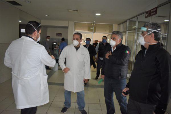 Se Refuerza IMSS Baja California con Más de 600 Nuevas Plazas para Atender Contingencia de Coronavirus: Alejandro Ruiz Uribe