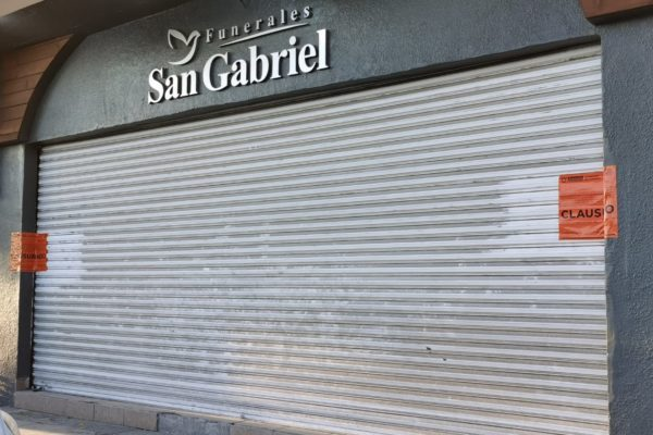 Clausuran Funeraria San Gabriel