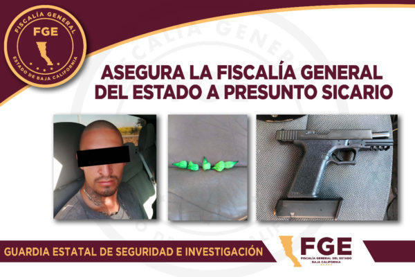 Cae presunto sicario del Cártel de Sinaloa en Operativo Rastrillo