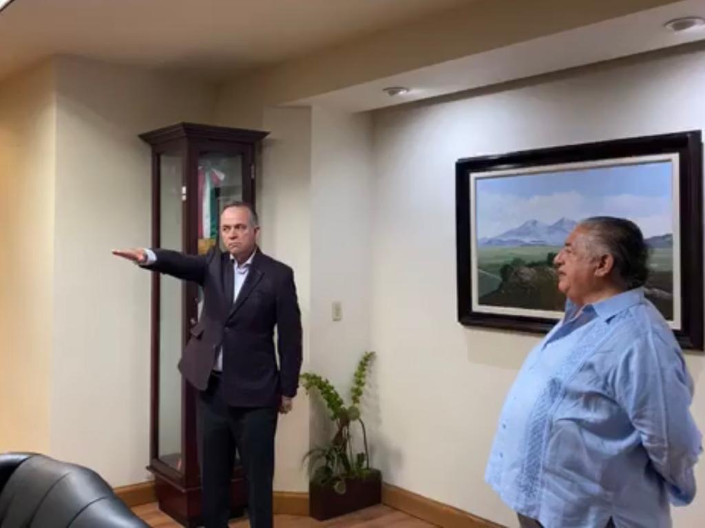 Laborín Valdez, trabajará en equipo con nuevo Secretario para el Manejo, Saneamiento y Protección del Agua
