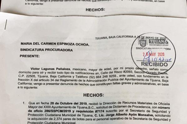 Denuncian al alcalde y al secretario de seguridad por desvío de recursos del FORTASEG