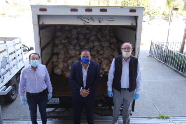 Aportan comerciantes despensas para los sectores vulnerables de Tijuana