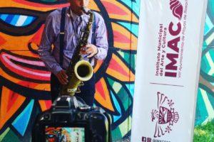 Entrega IMAC más de 200 despensas a comunidad artística rosaritense