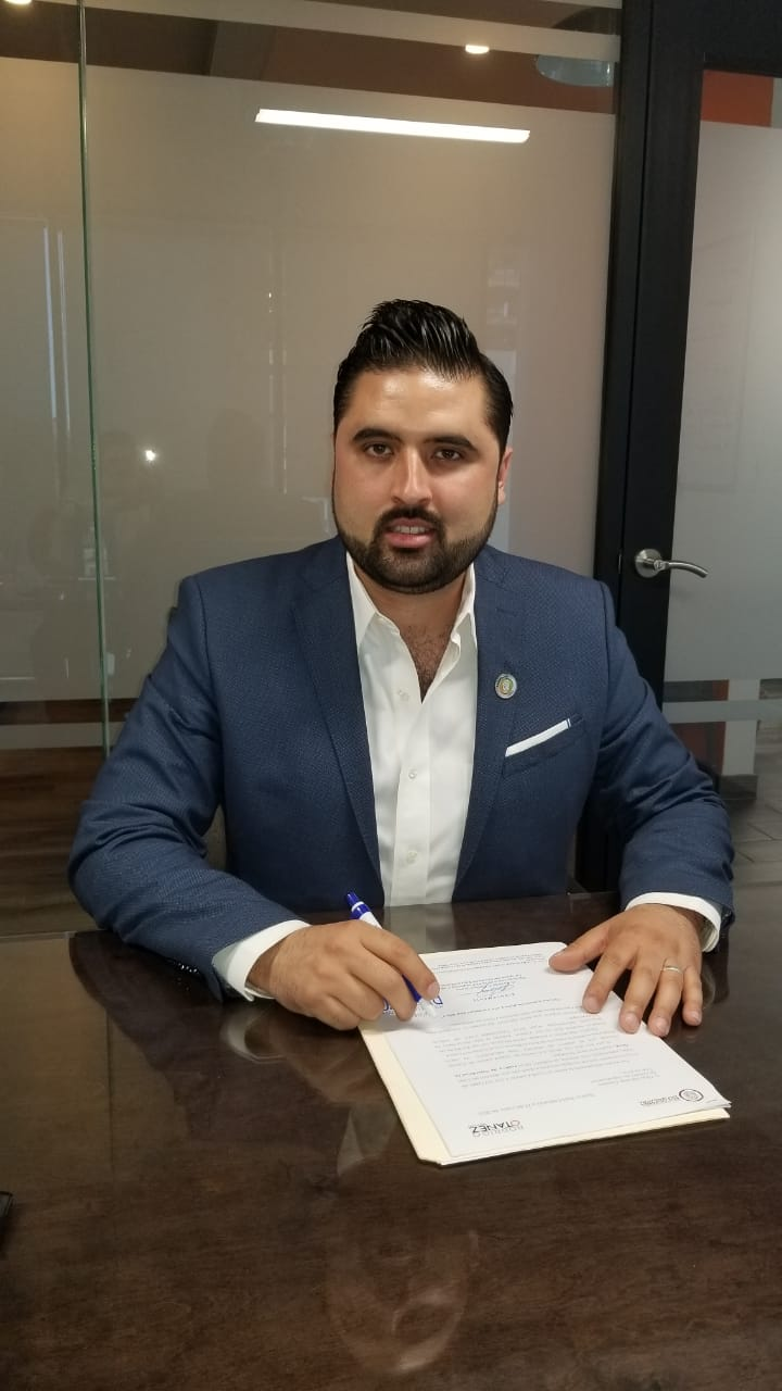 Propone el diputado Rodrigo Otañez redefinir el convenio fiscal