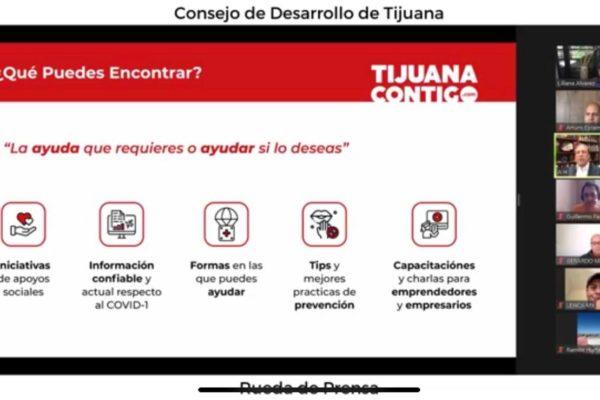 "CDT presenta avances en programa  ""Tijuana Contigo"""