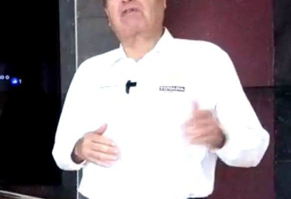 Arturo González Cruz, crucificado en su propia cruz