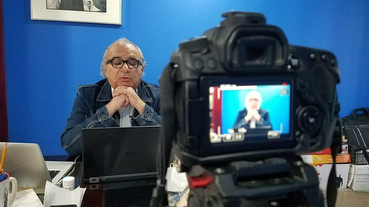 Participó el Secretario de Cultura en el Encuentro Iberoamericano Equidistante. Miradas Imperfectas 2020