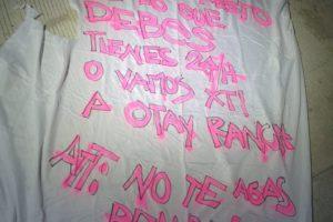 Amenazan con narcomanta a Víctor Lagunas Peñaloza