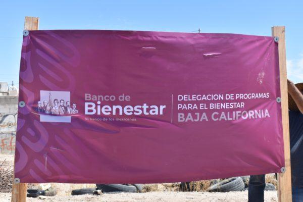 Se construye otro Banco del Bienestar en el Ejido Orizaba de Mexicali