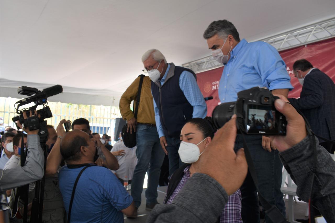 Gobierno de México se Suma a las Acciones del Gobierno del Estado en la Colonia Ballesteros: Jesús Alejandro Ruiz Uribe