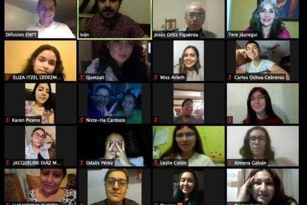 Exitoso el Primer Foro Virtual de Historia que llevó a cabo la ENFT