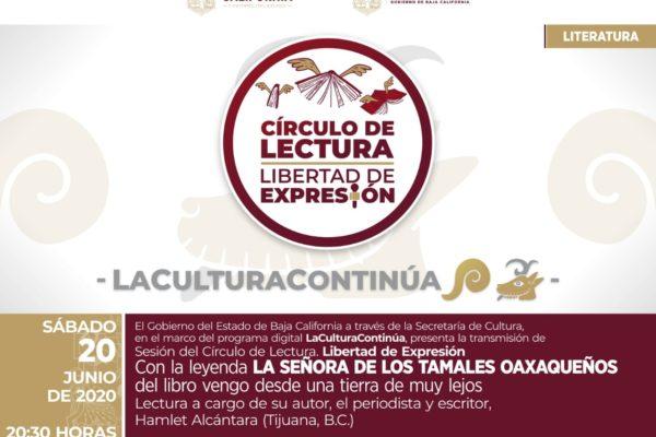 """Trasciende internacionalmente círculo de lectura """"Libertad de Expresión"""" de Secretaría de Cultura"""