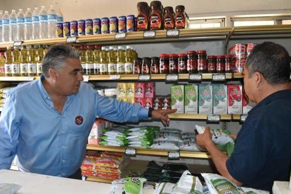 Supervisa  Ruiz Uribe se Respeten Bajos Precios en Tiendas Liconsa y Diconsa