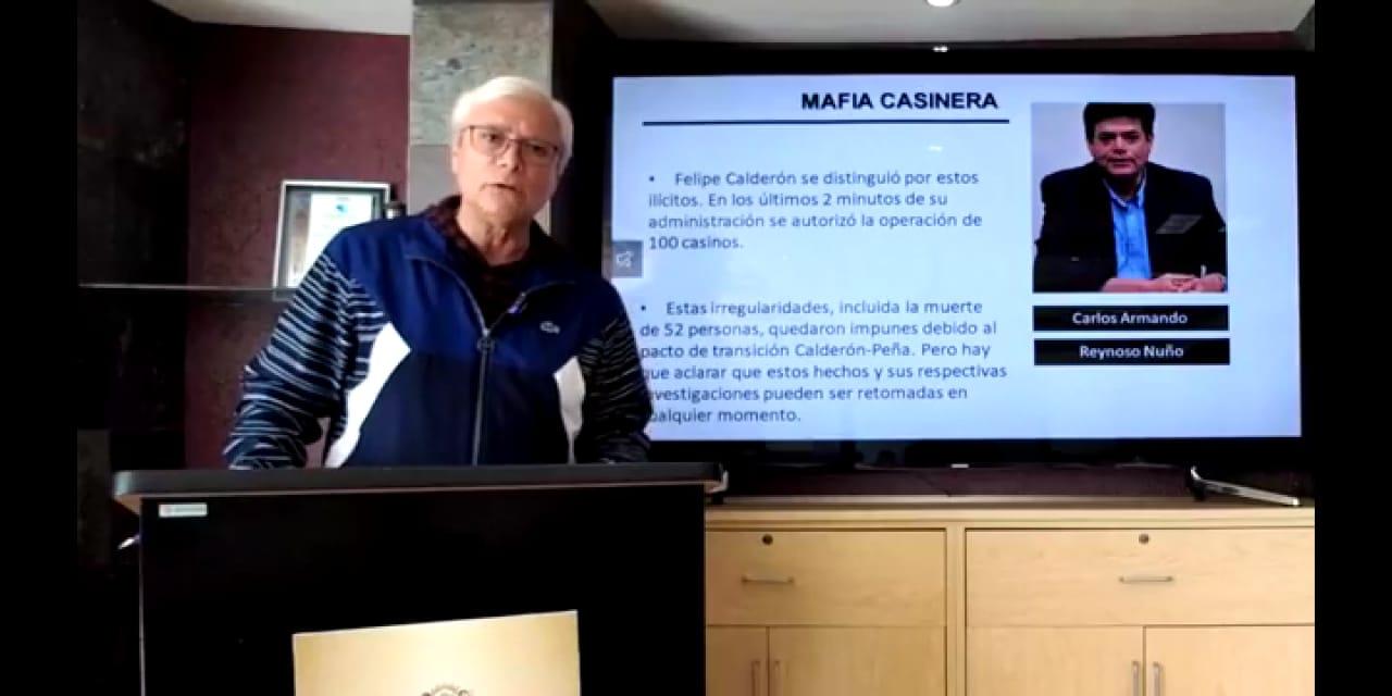 """Señala el Gobernador al panista Carlos Reynoso Nuño de ser parte de la """"Mafia Casinera"""" Calderonista"""