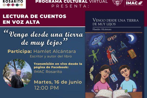 Invita IMAC a transmisión de lectura de cuento en voz alta